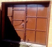 ворота гаражные изготовление