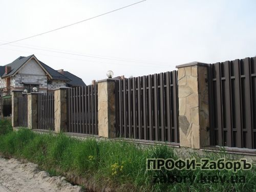 штакетный забор цена