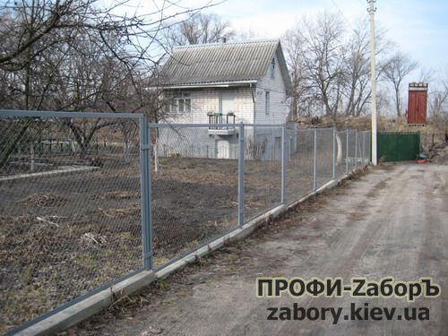 Секционные заборы из сварной сетки Киев
